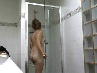 Shower Voyeur And Fucking
