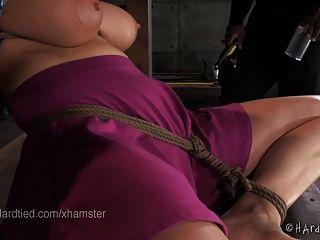 Rope Bondage With Screaming Orgasms