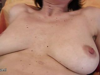 Female Mature Police Officer Loves Getting Off