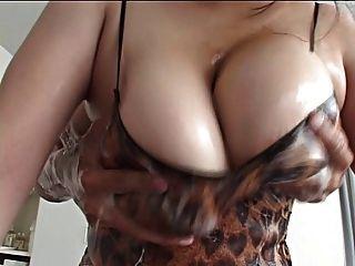 Rei Massage Big Boobs Tits Busty Japanese Japan