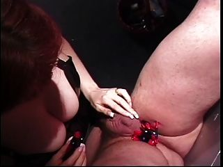 Dominatrix Punishes Her Slave In The Dungeon With Whipping And Cbt