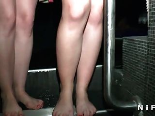Young Amateur First Time Anal In Swinger Club