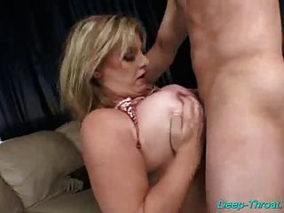 Busty Babe Does Deepthroat Hard Sex And Gets Tittyfucked