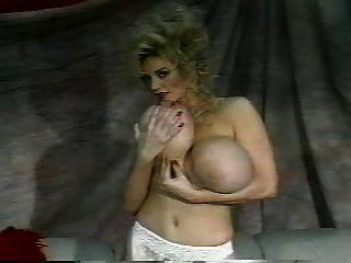 Blonde Huge Fake Tits