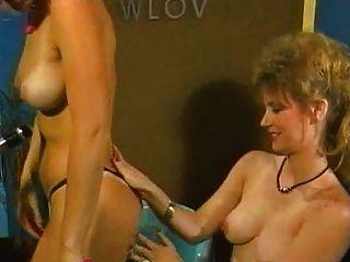 Classic Girl-girl Scene. Gail Sterling Vs Nina Hartley.