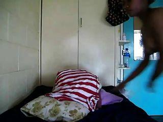 Amateur Horny Papa New Guinean  Girl Masturbating 1