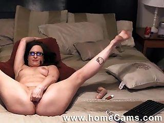 Friends Mom Caught Masterbating On Homecams.com