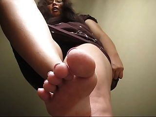 You Can Almost Suck Her Toe
