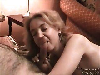 Hot British Wife Honey Fucks Husbands Friend !