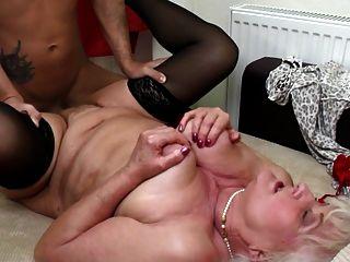 Granny Slut Suck And Fuck Young Hard Cock