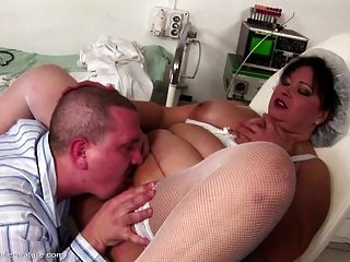 Big Mom Gets Anal Creampie And Fucking In All Holes