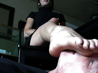 Awesome Office Foot Worship
