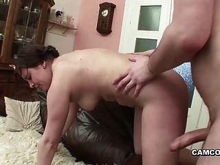 Step-dad With Big Dick Fucks German Bbw Teen When Mom Away