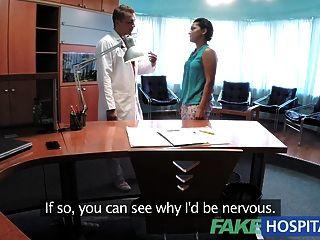 Fakehospital Patient Overhears Doctor Fucking Nurse Sex