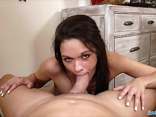 Dixie Brooks Sucks And Eats Cum Gooey Load