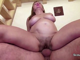 Hairy Mom And Dad In First Time Porn Casting Movie