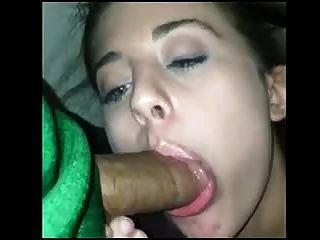 Cute White Girl Sucking Dick Under The Table