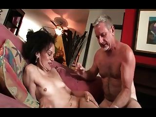 Granny Tries To Handle A Big Cock