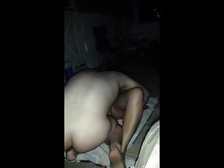 Chubby Amateur Aunt Gets Fucked Hard Outside Party