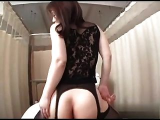 Japanese Mature Black Stockings Sex
