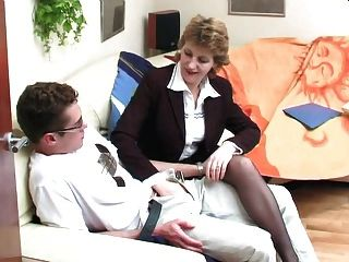 Russian Teacher Seduces Young Student