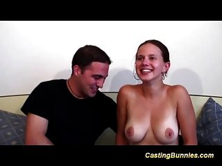 Busty French Teens First Anal Casting