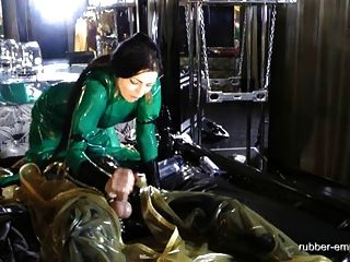 Rubber-empire.com - Looked Up After Milking Machine