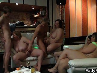 He Is Screwing Super Huge Tits Plumper
