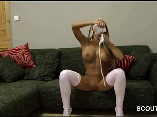 German Hot Step-sister Make Horny Not Step-brother