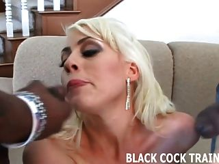 Watch Me Take Every Inch Of His Black Cock In My Ass