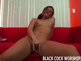 Watch Me Take My First Black Cock From A Total Stranger