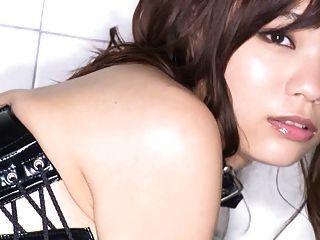 Mio Goodbye - Leather Corset Bondage Fashion