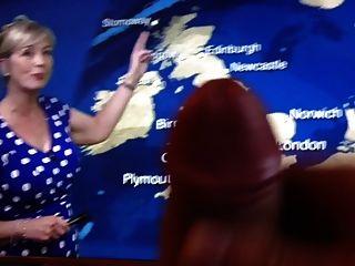 Carol Kirkwood-bbc Weather Presenter Big Tits Tribute