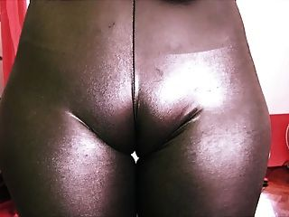 Bubble-butt Teen Has A Huge Cametoe In Tight Rubber Spandex!