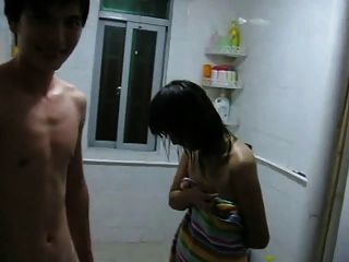 Asian Couple Having Sex For The First Time