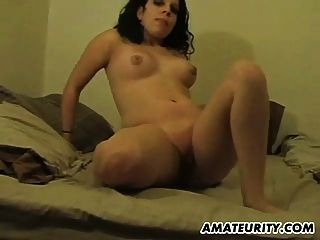 Amateur Teen Gf Gets Anal Fuck With Creampie