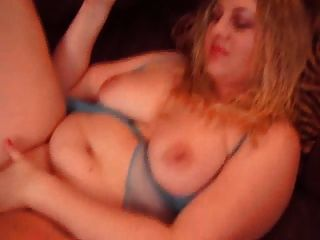 Fat Leg Amputee Women Masturbates With A Toy