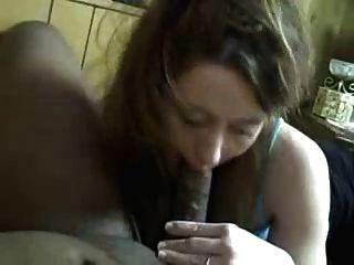 White Wife Sucks Black Dick, Flashes Wedding Ring Bbc