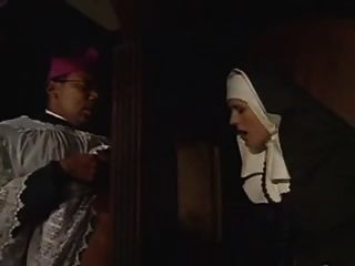 The Nun In The Confessional Box