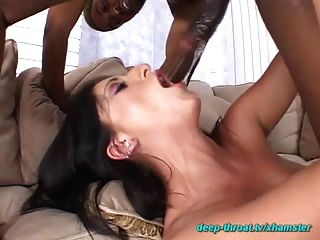 Extreme Deepthroat In All Holes