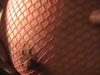 Playing With My Huge Nipples In My Body Stocking