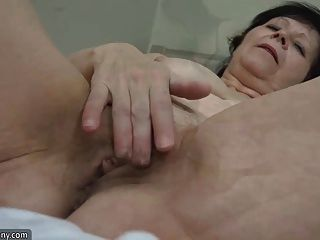 Oldnanny Hot Granny And Pretty Teen With Toy