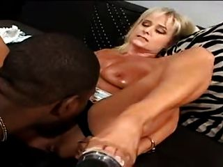 Black Dick For Sexy Blonde Milf
