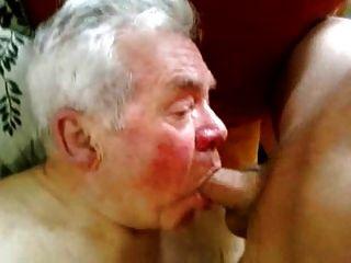 Порно Дед Гей Сосет Хуй