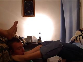 Bbw Foot Smother And Gagging