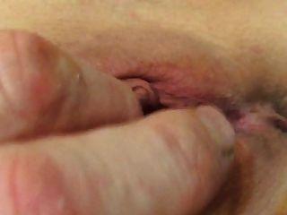 Wifes Pussy Cum Real Female Orgasm Labia Clit Juicy Wet