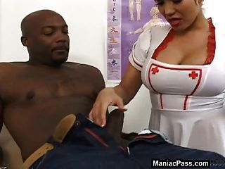 Milf Nurse Hungry For Fuck