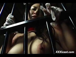 Asian Bondage Behind Bars