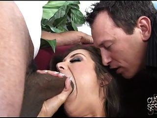 Hot Wife Cheating With Black In Front Of Hubby