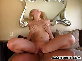 Naughty Amateur Teen Girlfriend Action With Cum In Mouth